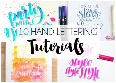 hand lettering tutorial book 10 hand lettering tutorials dawn nicole designs 174
