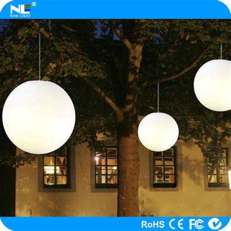 color changing outdoor led hanging light balls christmas