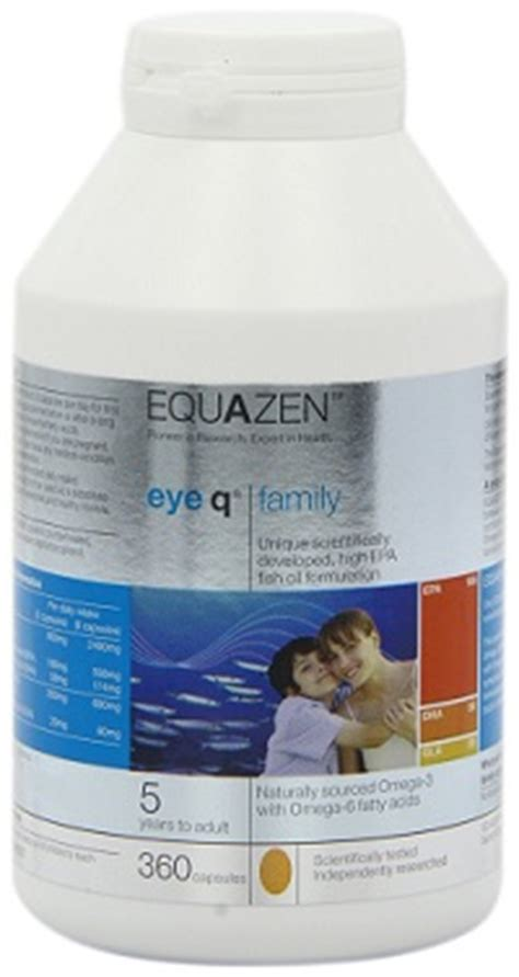 eye q supplement ingredients omega 3 and adhd fish to improve memory