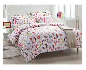 hot sell 4pcs bedding sets 100 cotton cheap comforter set