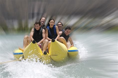 banana boat ride fall banana boat ride waikiki oahu hawaii water sports center