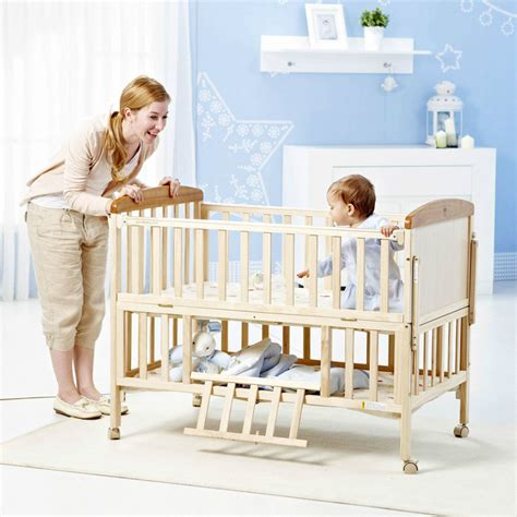 Online Buy Wholesale Wooden Crib From China Wooden Crib Baby Cribs Wholesale