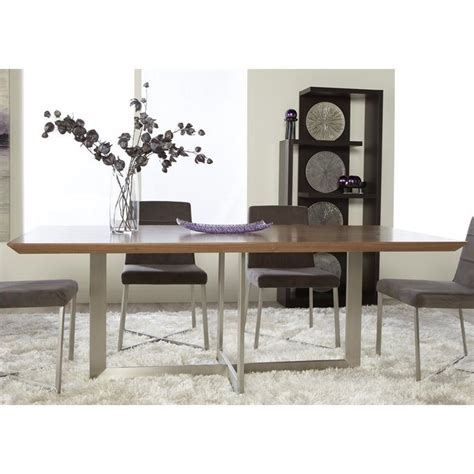 kitchen table walnut creek ca eurostyle tosca dining table in walnut 38620ss a