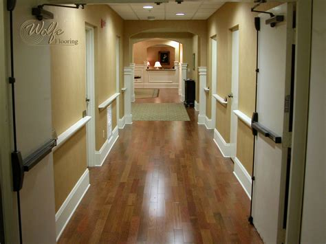 Clearwater Senior Living Custom Carpet and Hardwood