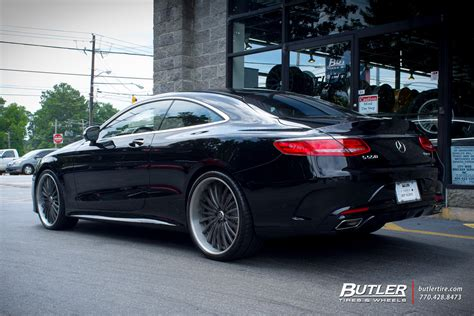 mercedes  class coupe   lexani lf wheels exclusively  butler tires  wheels