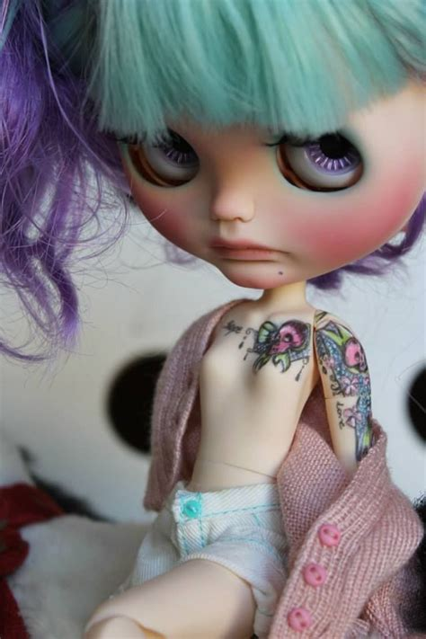 barbie with tattoos 226 best dolls with tattoos images on
