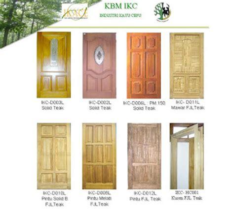 Pintu Rumah Mewah Pintu Panel Pintu Panil harga pintu kayu plywood
