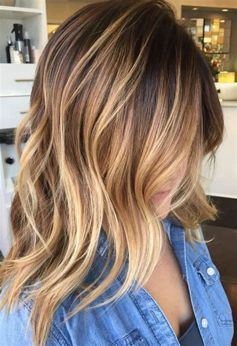 hair cut with a defined point in the back 1001 ideen f 252 r ombre blond frisuren top trends f 252 r den