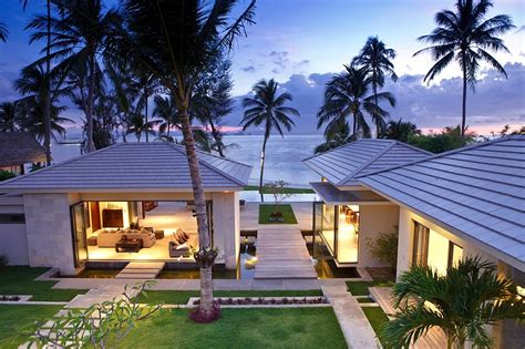 beachfront home plans elegant thai retreat koh samui