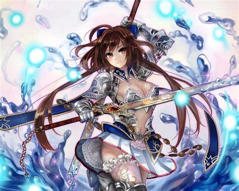 wallpaper anime warrior anime girl warrior wallpaper wallpapersafari