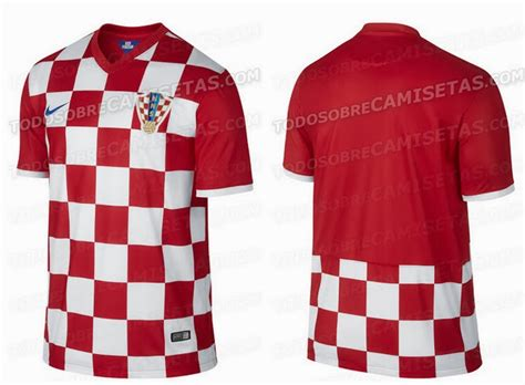 croatia 2014 world cup home kit leaked