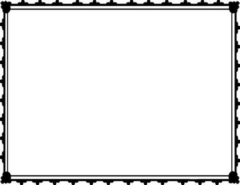 White Sertifikat free certificate frame clipart clipart collection