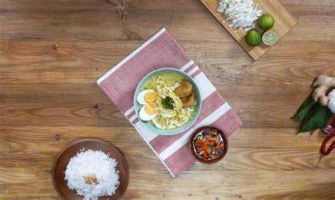 resep soto ayam sambal matah keluarga masak  hari