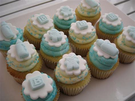 Boy Baby Shower Cup Cakes by Boy Baby Shower Cupcakes