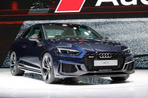 2018 audi rs5 looks in geneva but is 450 hp enough