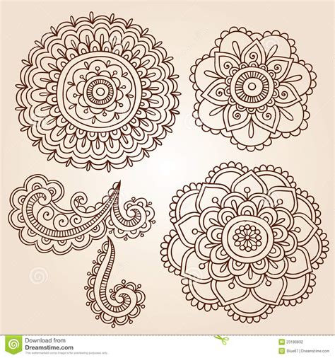henna tattoo mandala free coloring pages of mehndi templates