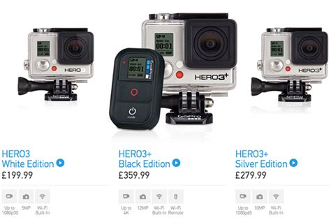 gopro price gopro launch hero3 ride it out