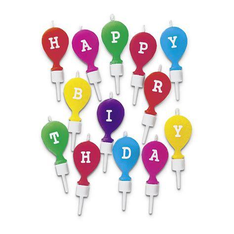 kerzen mit halter kerzen happy birthday mit halter set 13 teilig