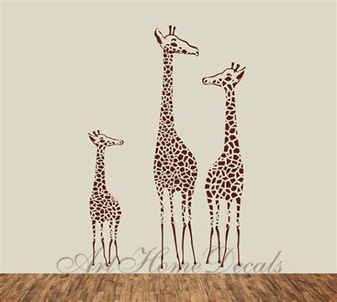 wall stickers giraffe giraffe wall decal animal wall stickers t3