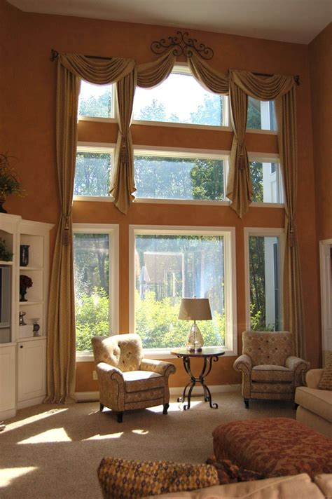 window treatments for double windows 159 best two story window treatments images on pinterest