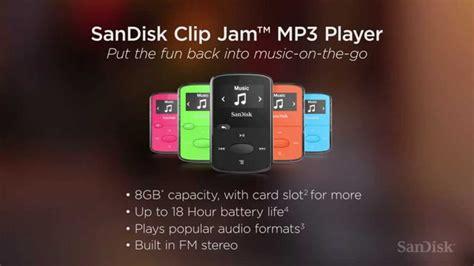 download mp3 youtube 1 jam נגן mp3 מבית סאנדיסק clip jam בנפח 8gb youtube