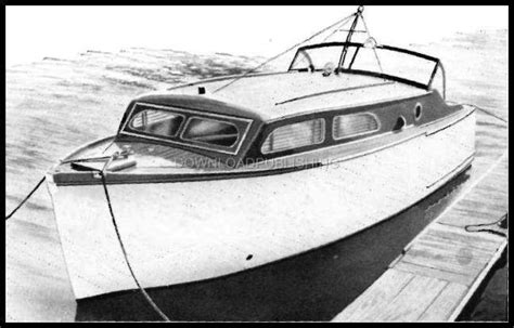 ebay motors wood boats sport fisher cabin cruiser boat plans how to wood