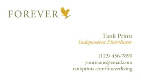 forever living business cards template forever living business card design 2 tank prints