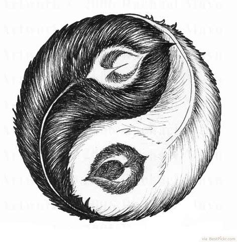 30 Cool Yin Yang Tattoos   Perfect Designs & Ideas   BestPickr
