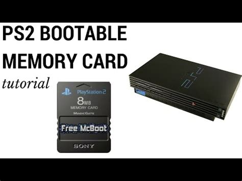 how to make ps2 memory card create playstation 2 bootable memory card how to save