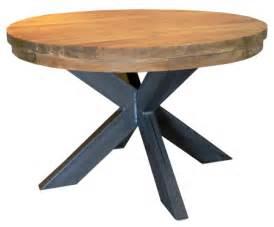 teakholz tisch rund tische aus echtholz