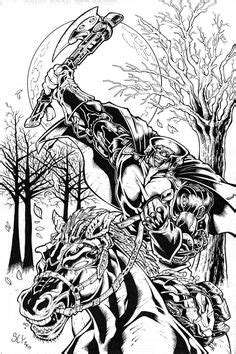 halloween coloring pages headless horseman headless horseman halloween coloring page get more