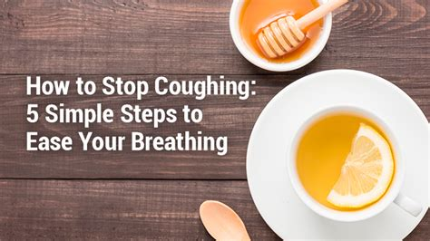 how to your to stop lung institute how to stop coughing 5 steps to ease your breathing