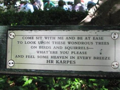 memorial bench sayings central park bench great quote picture of central park