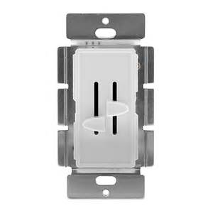 sind led len dimmbar led dual slide switch and dimmer for standard 12v wall