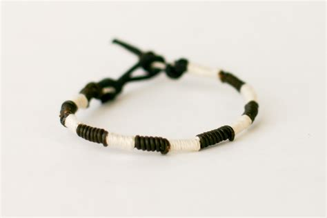 How To Make Handmade Bracelets With Threads - here is a bracelet of just the embroidery thread in