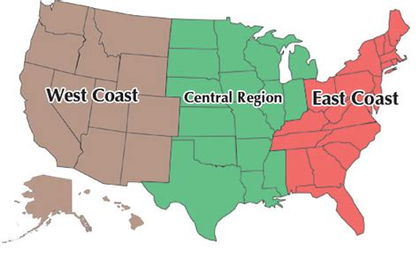 map of the us west coast map of the west coast of us cdoovision