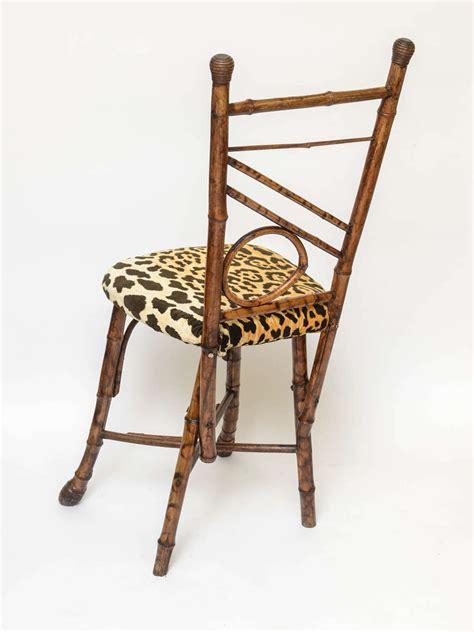 Bamboo Side Chair by 19th Century Bamboo Side Chair At 1stdibs