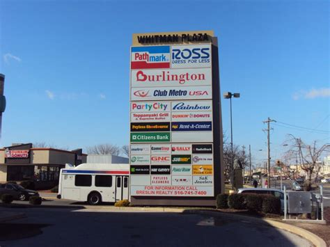 Free Standing Awnings Multi Tenant Pylon Amp Shopping Center Signs Forman Signs