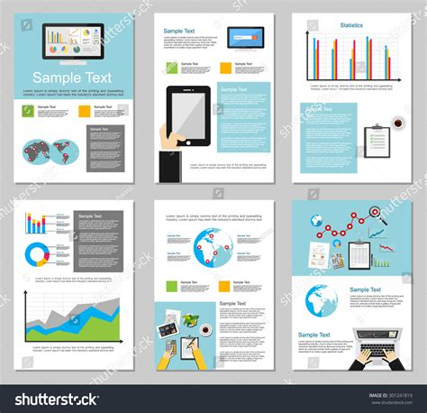 infographic brochure template business infographic elements business background brochure