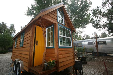 tiny house tours ella shows you her tumbleweed tiny house pictures and