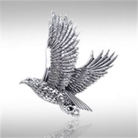 silver eagle tattoo hours eagle pendants and necklaces hawks and falcons included