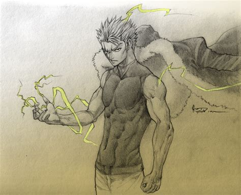 Fairy Tail Manga by Laxus The Lightning Emperor By Nick Ian On Deviantart