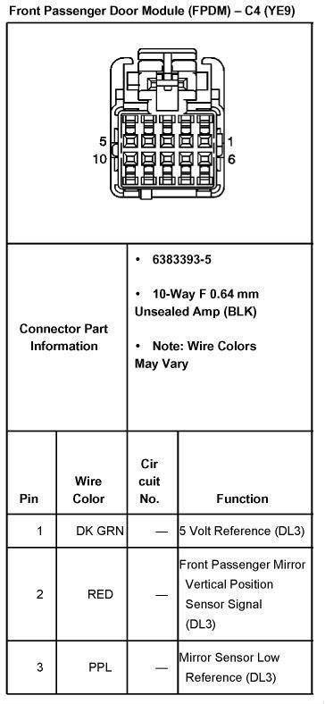 04 2500HD mirror wiring - Street Source