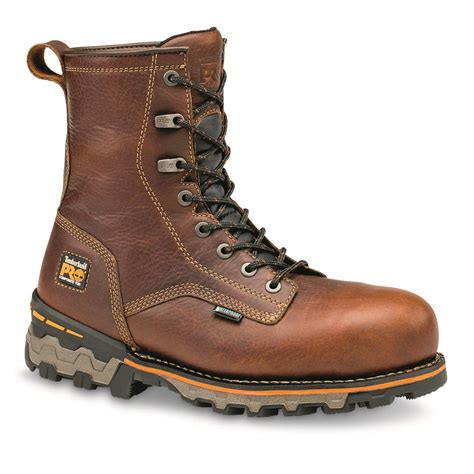 soft boots for timberland pro s boondock waterproof 8 quot soft toe work