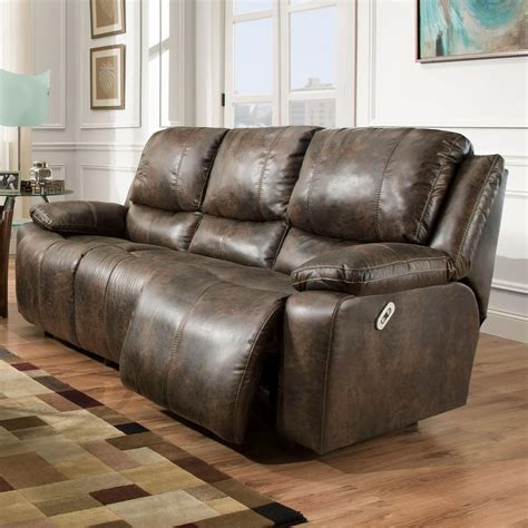 franklin reclining sofa franklin montana power reclining sofa with power backrest