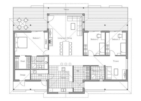 Modern Open Floor Plans 88 Best House Plans Images On Pinterest Floor Plans Small House Plans And House Blueprints