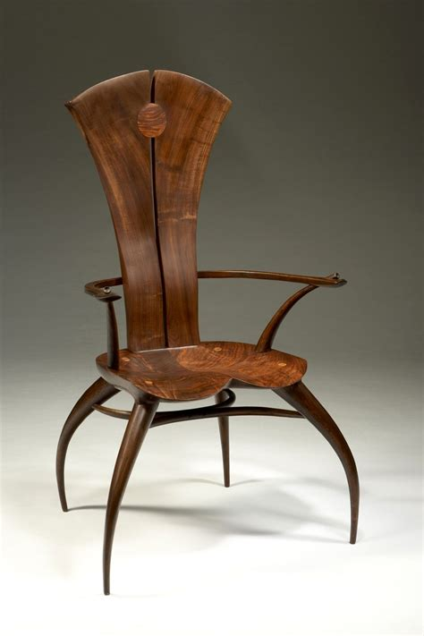 Spider Chair - joe graham solidback spider chair walnut and oak