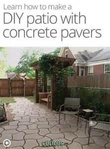 How To Cover A Concrete Patio With Pavers Diy Concrete Patio Cover Ups The Garden Glove Best Garden Ideas