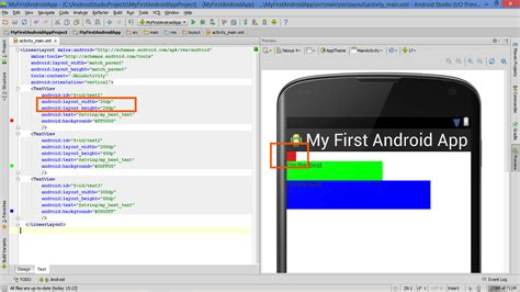 layout invisible android lesson how to build android app with linearlayout plus