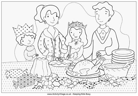 family dinner coloring page family dinner coloring pages coloring pages